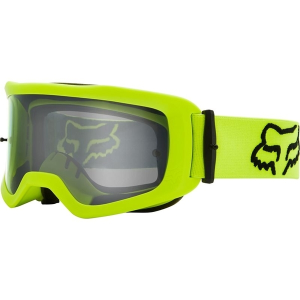 MX brýle FOX Main S Stray Goggle Flo Yellow