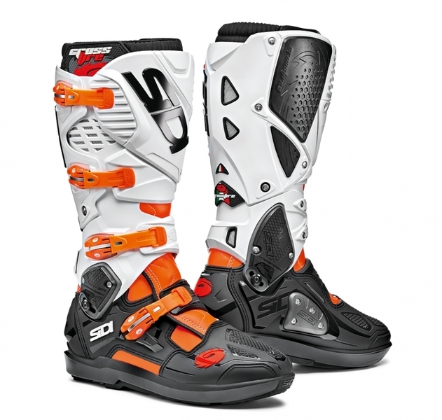 Mx Boty SIDI CROSSFIRE 3 SRS ORANGE FLUO / BLACK